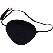 Costume Accessory: Deluxe Cloth Pirate Eye Patch