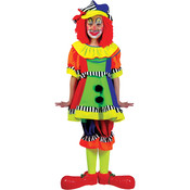 Wholesale Girl's Clown Costumes -Girl's Halloween Clown Costumes