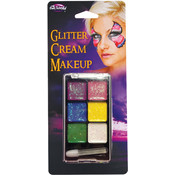 Costume Accessory: Glitter Crème Make-Up Palette