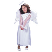 Costume Accessory: Angel Wings Feather - Child | White