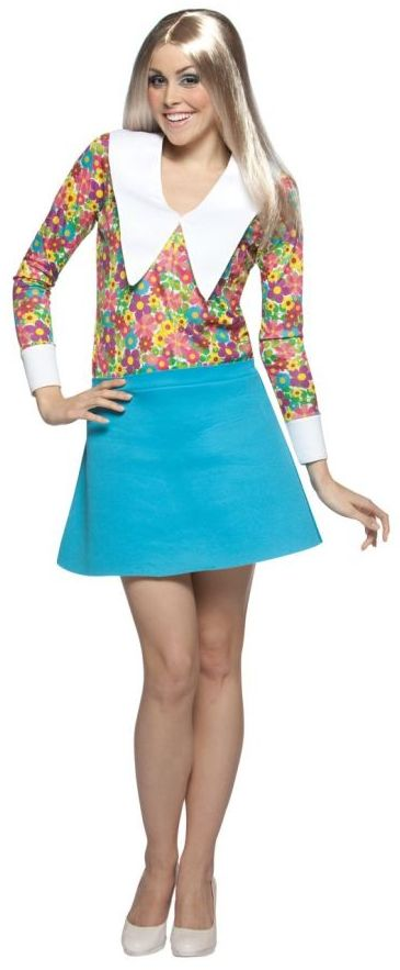 Marcia Brady Women's Costume- One Size