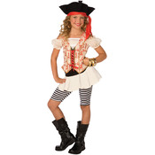 Wholesale Girl's Pirate Costumes - Discount Girl's Halloween Pirate Costume