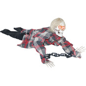 halloween prop animated reaper in chains 18