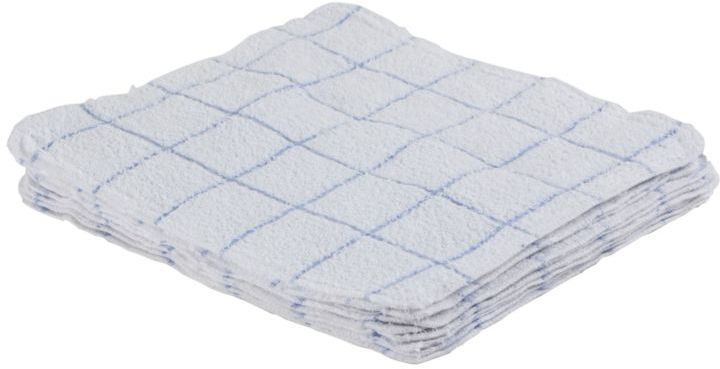 Wholesale Blue White Check Dish Cloths Sku 2169046