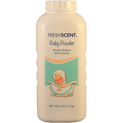 Freshscent Baby Talc Powder 4 oz