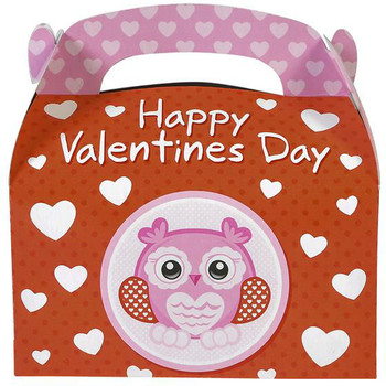 Happy Valentineu0027s Day Party Treat Boxes
