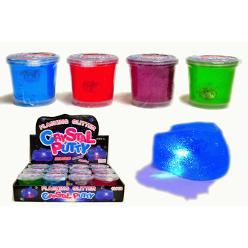 Wholesale 2 5 Quot Crystal Light Up Putty Sku 2289592 Dollardays