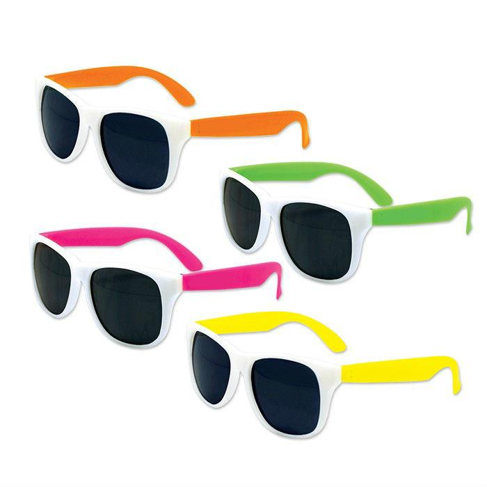56c567c632d Neon Pink Sunglasses Bulk