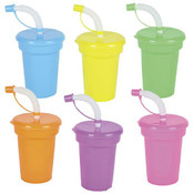 Neon Sippy Cups