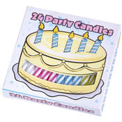 Case Lot 24ct Quality Birthday Candles