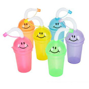 7 Ounce Smile Sippy Cups
