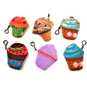 "4"" Ice Cream Coin Purse Clip On"