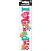 Embellishment Stickers-I Heart Grandma