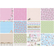 "ScrapBerry's A Furry Little Story Paper Pack 12""X12"" 6/Pkg-"
