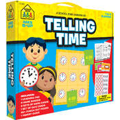 School Zone Learning Set-Telling Time