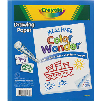 crayola color wonder 30 page refill paper wholesale crayola color wonder drawing paper 30 pages