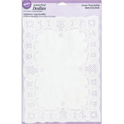 Greasproof Doilies Rectangle - 6 Ct