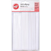 Lollipop Sticks 100 Piece Set - 6""