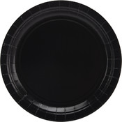 "Big Party Pack Paper Dinner Plates 9"" 60/Pkg-Black"