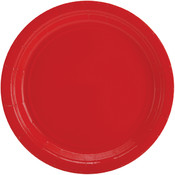 "Big Party Pack Paper Dinner Plates 9"" 60/Pkg-Apple"