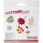 "CottageCutz Die-Autumn Foliage, .5"" To 2.3"""