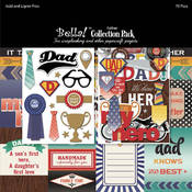 "Bella! Collection Pack 12""X12""-Father"