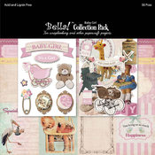 "Bella! Collection Pack 12""X12""-Baby Girl"