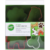 Metal Cookie Cutters 4/Pkg-Pet Theme