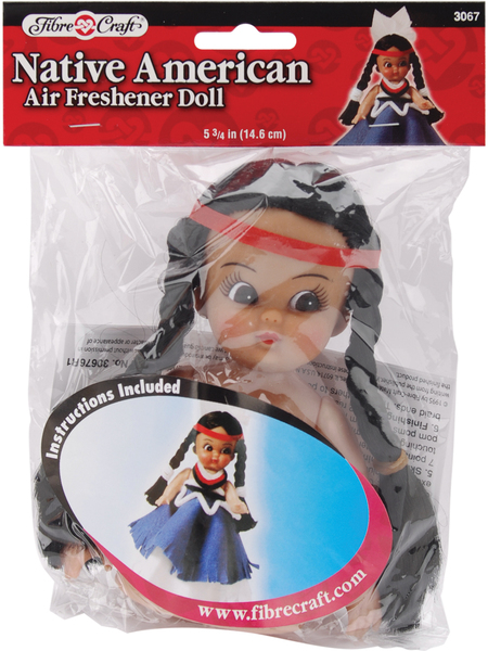 Wholesale Air Freshener Doll 5 75 Quot Native American Sku