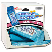 Handy Solutions Body Wipes 12 Count Dispensit Case