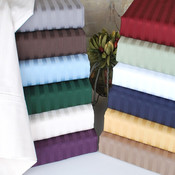 Embossed Dobby Stripe Sheet Set- Queen