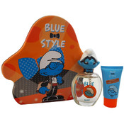 First American Brands - The Smurfs Blue Style Brainy (3 Pc Gift Set)
