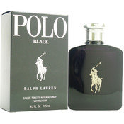 Men Ralph Lauren Polo Black EDT Spray 4.2 oz