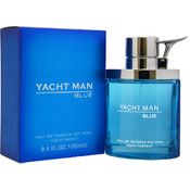Men Myrurgia Yacht Man Blue EDT Spray 3.4 oz