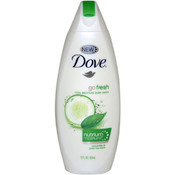 Dove Go Fresh Cool Moisture Body Wash Cucumber & Green Tea Scent 12 oz
