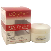 Unisex L'Oreal Paris Revitalift Anti-Wrinkle & Firming Moisturizer For Face & Neck Contour Cream