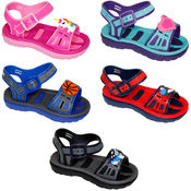 Toddler's Open Toe Sandals with Cute Embellishment