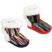 Girl's Braided Winter Boots