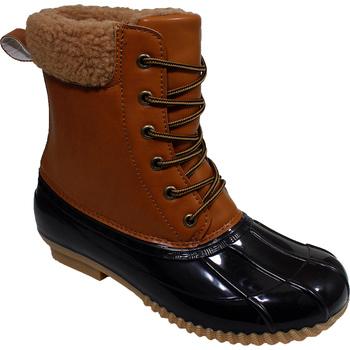 Women's Water Resistant Duck Boots - Brown/Tan