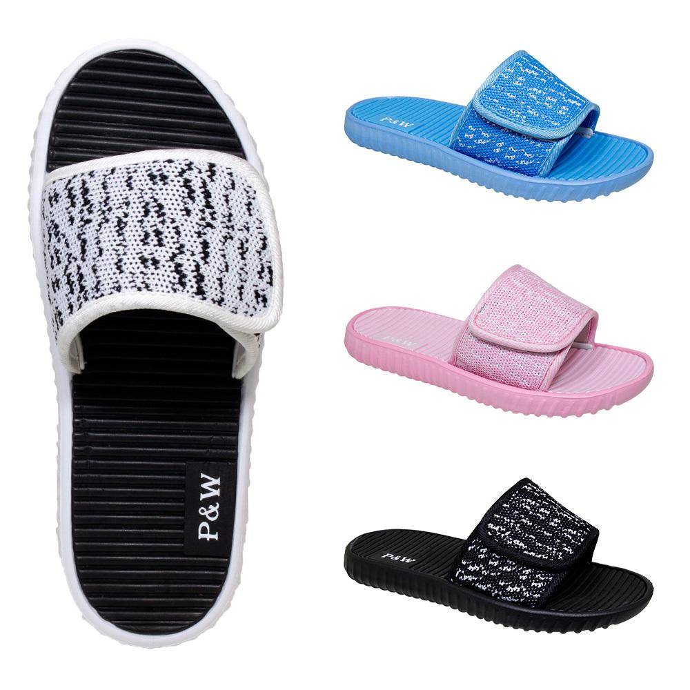 Wholesale Women's Velcro Slide Sandals