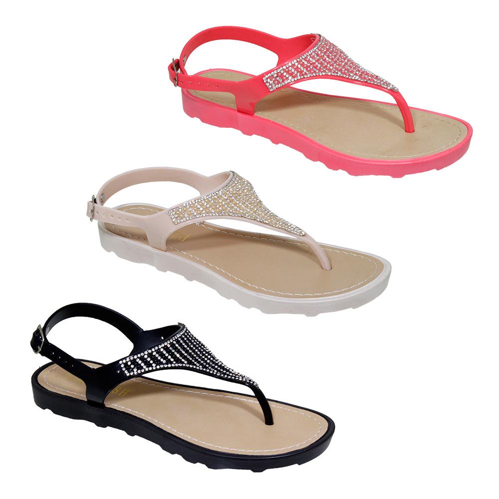 36c9ac2bdad0 Wholesale Women s Ankle Strap Sandals with Rhinestone (SKU 2303180 ...