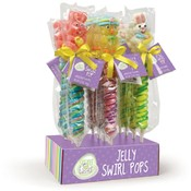 Easter Jelly Swirl Pops