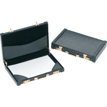 Wholesale premium mini briefcase business card holder pink only wholesale premium mini briefcase business card holder pink only sku 1206566 dollardays colourmoves