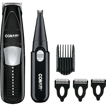 wholesale conair 2 in 1 beard mustache trimmer sku 2281867 dollardays. Black Bedroom Furniture Sets. Home Design Ideas