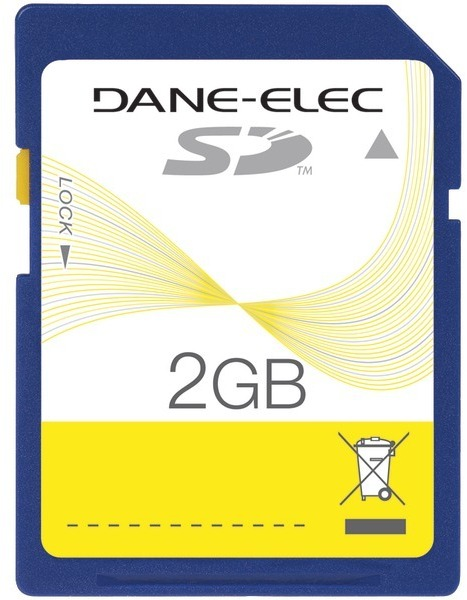 Dane-Elec Secure Digital Card 2Gb-