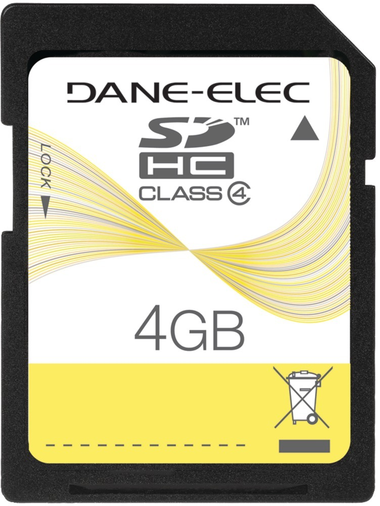 Dane-Elec Secure Digital Card 4Gb