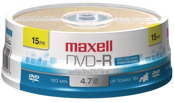Dvd-R - 15Ct Spindle