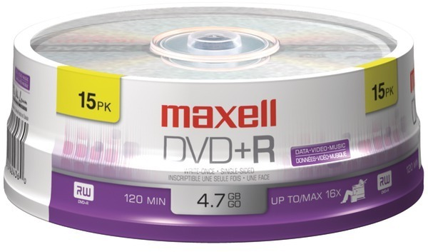 Dvd+R 15Ct Spindle