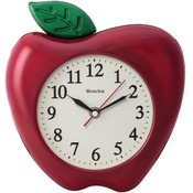 "Westclox 32038A 3-Dimensional Apple 10"" Wall Clock"