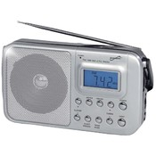 Supersonic Sc-1091 Portable 4-Band Am/Fm/Sw1-2 Radio